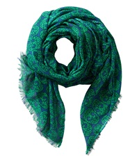 San Diego Hat Company Bss1401 Skull Print Fabric Scarf Teal Green Scarves Multi