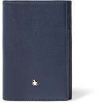 Montblanc Meisterstuck Leather Trifold Cardholder Navy