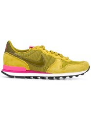 Nike 'Internationalist' Sneakers Yellow Orange