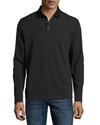 Michael Kors Long Sleeve Pullover Jersey Shirt Black