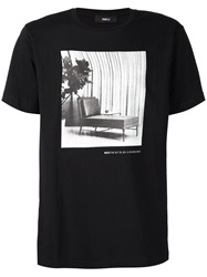 Yang Li Photographic Print T Shirt Black