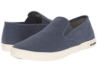 Seavees 02 64 Baja Slip On Standard Marine Women's Slip On Shoes Blue