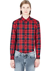 Maxwell Snow Tartan Shirt Red