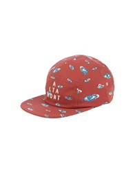 Altamont Accessories Hats Men Brick Red
