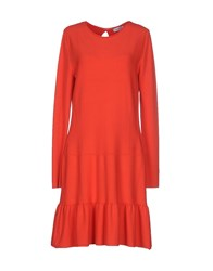 Max And Co. Dresses Short Dresses Women Coral