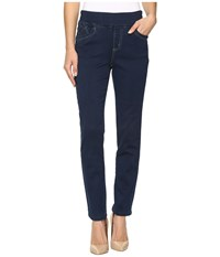 Fdj French Dressing Jeans D Lux Denim Pull On Slim Ankle In Indigo Indigo Women's Blue