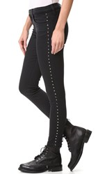 Current Elliott The Stiletto Jeans Tar With Studs