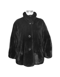 Forzieri Black Mink Fur Jacket