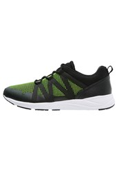 Your Turn Trainers Black Lime Neon Yellow