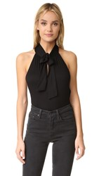 Ella Moss Bella Tie Blouse Black