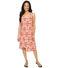 Kavu Jocelyn Dress Firewater Women's Dress Orange