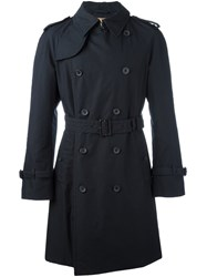 Sealup Classic Trench Coat Blue