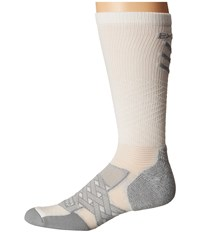 Thorlos Experia Energy Over The Calf Single Pair White Crew Cut Socks Shoes