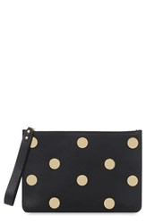 Sophie Hulme Women's 'Talbot' Dot Stud Calfskin Leather Pouch