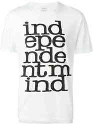 Paul Smith 'Independent Mind' T Shirt White