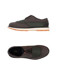 Swims Lace Up Shoes Military Green