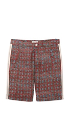 Folk Brick Shorts