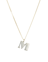Laura Lee Jewellery Laura Lee M Letter Necklace