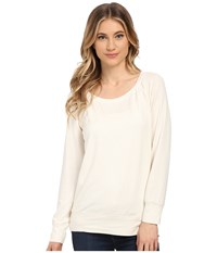 Culture Phit Desi Long Sleeve Sweater Ivory Women's Sweater White