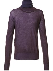 Vivienne Westwood Gold Label 'Lotus' Jumper Pink Purple