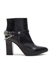 Love Moschino High Heel Ankle Boot Black