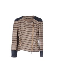 Pepe Jeans Coats And Jackets Jackets Women Light Brown