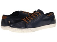 Frye Chambers Low Navy Soft Vintage Leather Men's Lace Up Casual Shoes