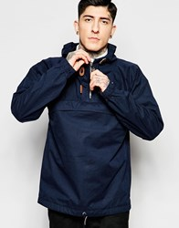 Fat Moose Sailor Overhead Jacket In Navy Navy