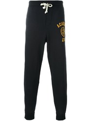 Polo Ralph Lauren Logo Print Track Pants Black