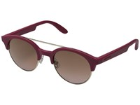 Carrera 5035 S Cherry Gold Brown Pink Gradient Fashion Sunglasses Red