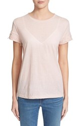 Women's Helmut Lang Cotton And Cashmere Tee