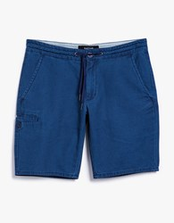 Native Youth Cotton Chino Short Indigo Wash