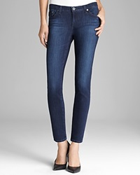Ag Adriano Goldschmied Jeans The Legging Ankle In Coal Grey