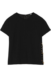 Versus Crepe Top Black