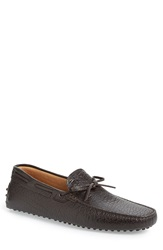 Tod's 'Gommini' Driving Moccasin Men Brown Leather