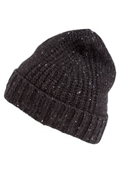 Pier One Hat Dark Grey Melange Mottled Dark Grey