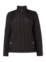 Persona Toast Quilted Short Jacket Black