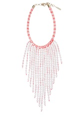 Missoni Fringed Necklace Pink