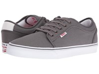 Vans Chukka Low Pewter White Red Men's Skate Shoes