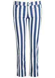 Seafarer Lord Jim Striped Cropped Skinny Jeans