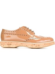 Church's 'Keely' Brogue Shoes Pink And Purple