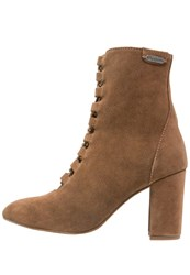 Pepe Jeans Dylan Corse Laceup Boots Nut Brown