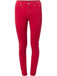 Mm6 Maison Margiela Skinny Jeans Red