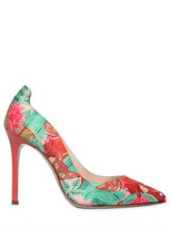 Camilla Elphick 105Mm Jungle Cat Printed Satin Pumps