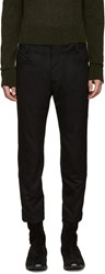Haider Ackermann Black Wool Coco Trousers