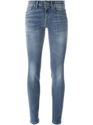 Dondup Skinny Fit Jeans Blue