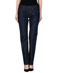 Incotex Denim Pants Blue