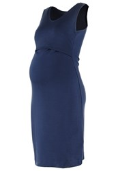 Boob Audrey Jersey Dress Navy Dark Blue
