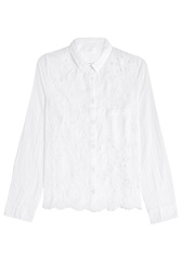 Zadig And Voltaire Cotton Tiana Blouse White