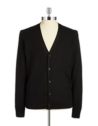 Perry Ellis Knit Cardigan Black